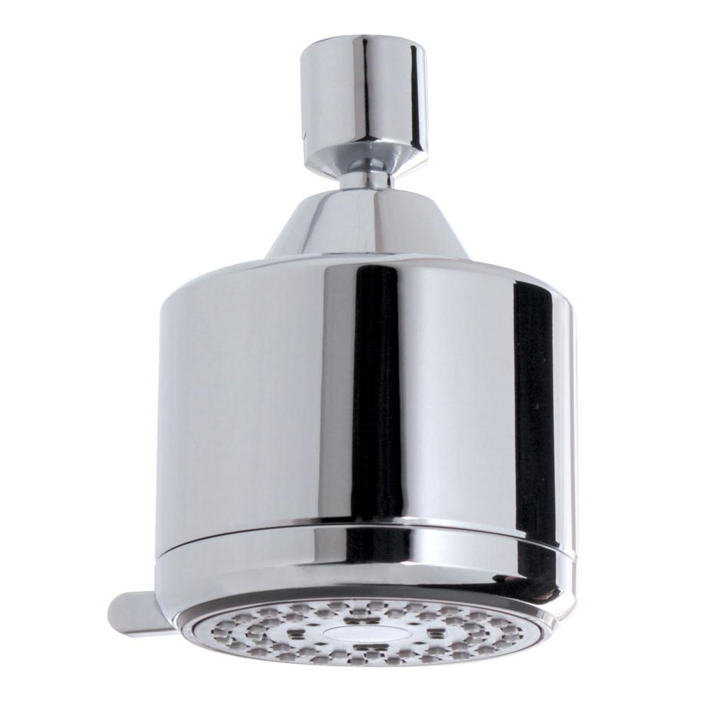 Aquabrass 465 ROUND 3'' SHOWERHEAD - 3 FUNCTIONS