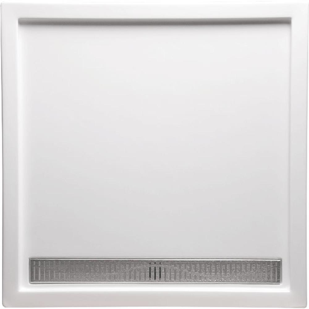 Americh   A4834ST WH   48u0027u0027x34u0027u0027 Single Threshold Shower Base   White