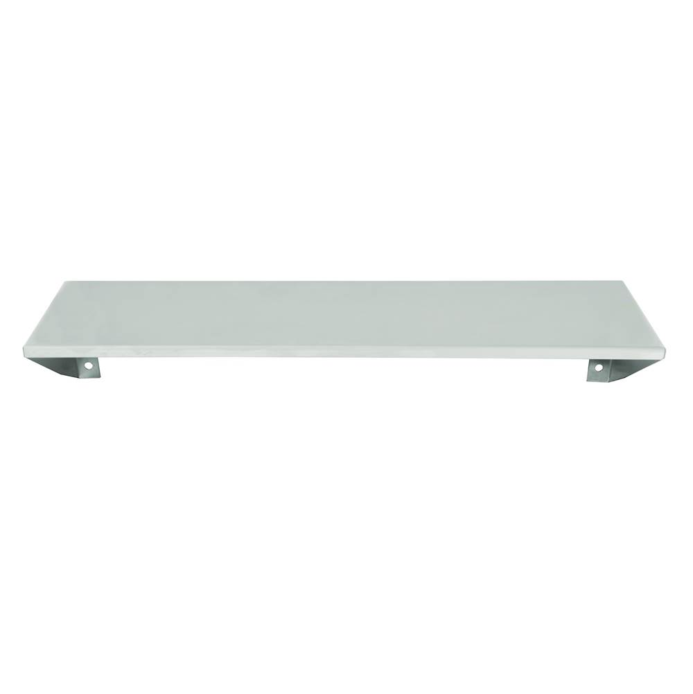 Bradley Shelf, SS, Surface Mount, 18W x 5D
