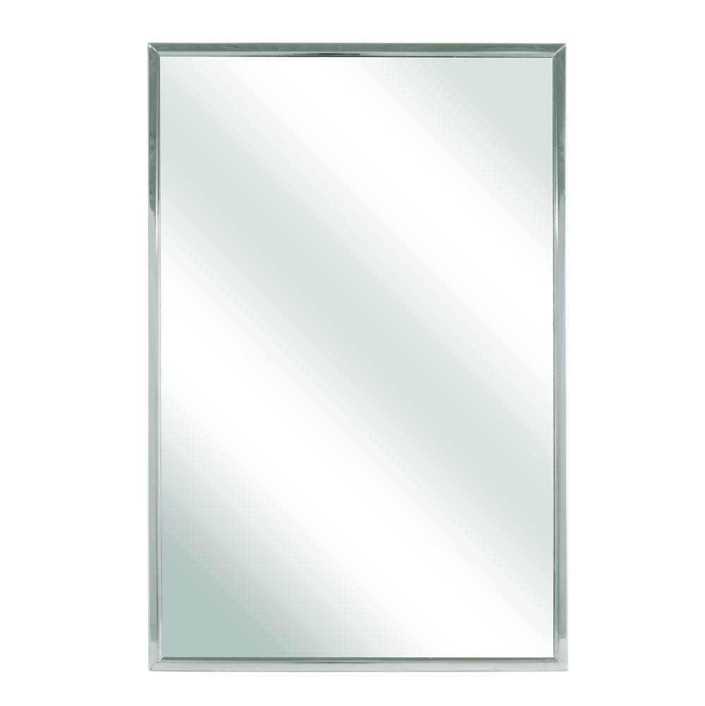 Bradley Mirror, Channel Frame, 24x24