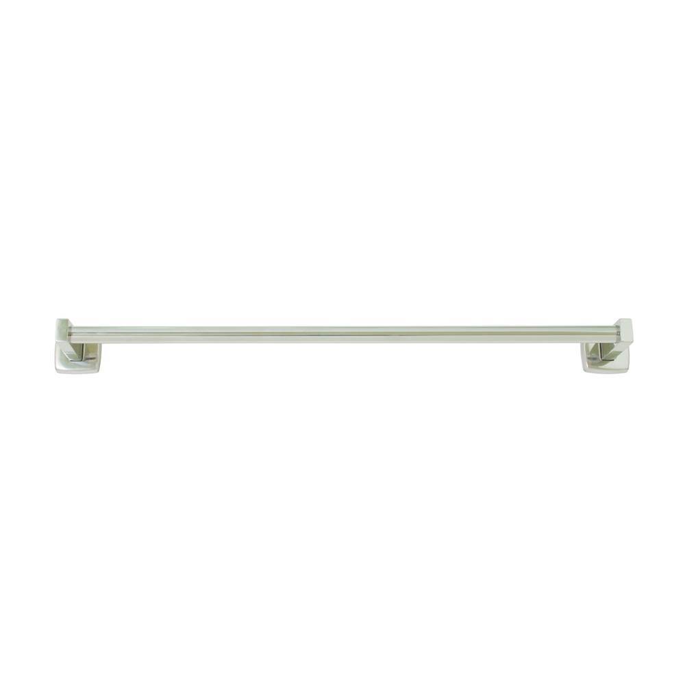 Bradley Towel Bar, Polished SS, Surface Mt