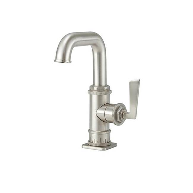 California Faucets Single Hole Lavatory Faucet with 2-1/4'' flange ZeroDrain®