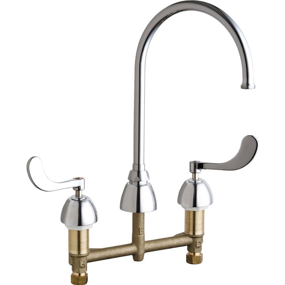 Chicago Faucets Bathroom Faucets Bathroom Sink Faucets Widespread ...