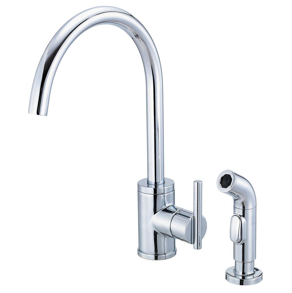 42300 d401058 danze parma 1h kitchen faucet - Danze Kitchen Faucets