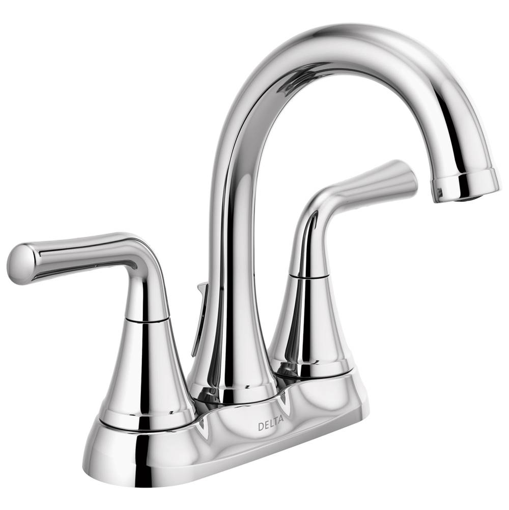 Delta Faucet Kayra: Two Handle Centerset Bathroom Faucet
