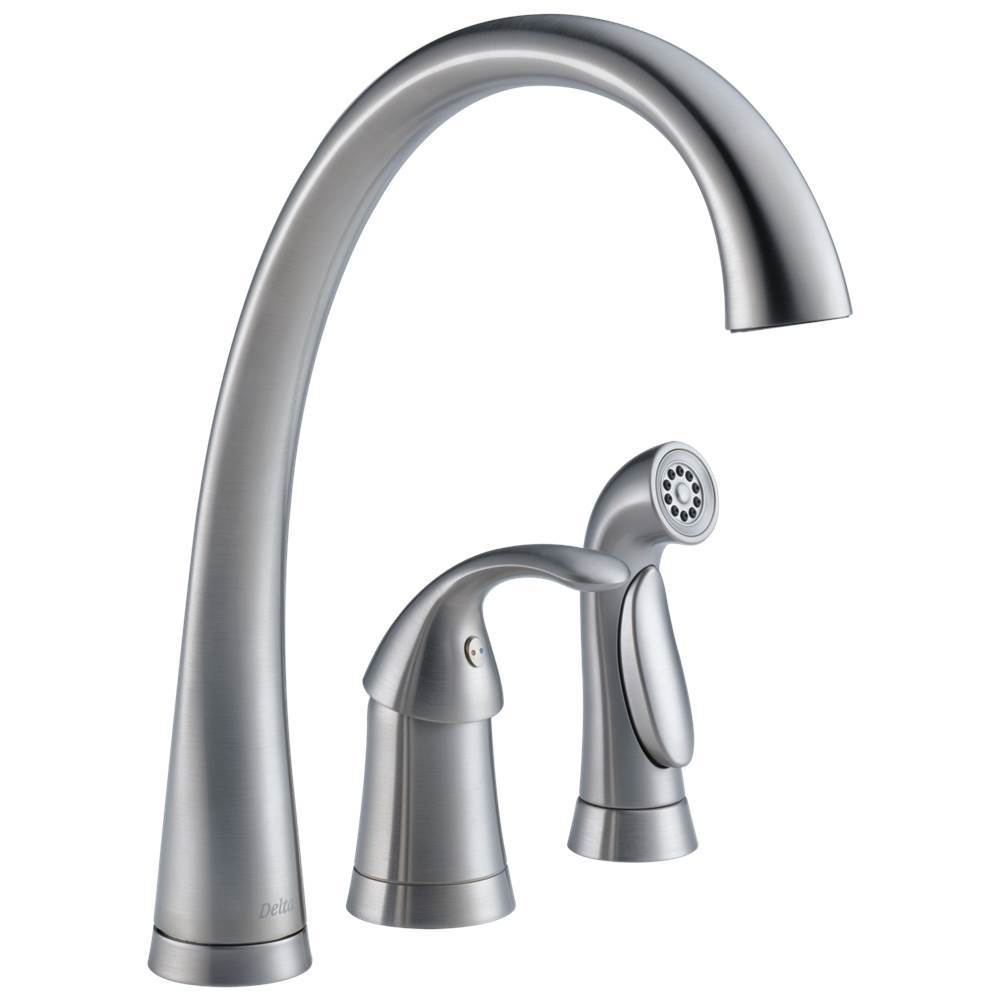Delta Faucet Kitchen Faucets Steel | Advance Plumbing and Heating ...