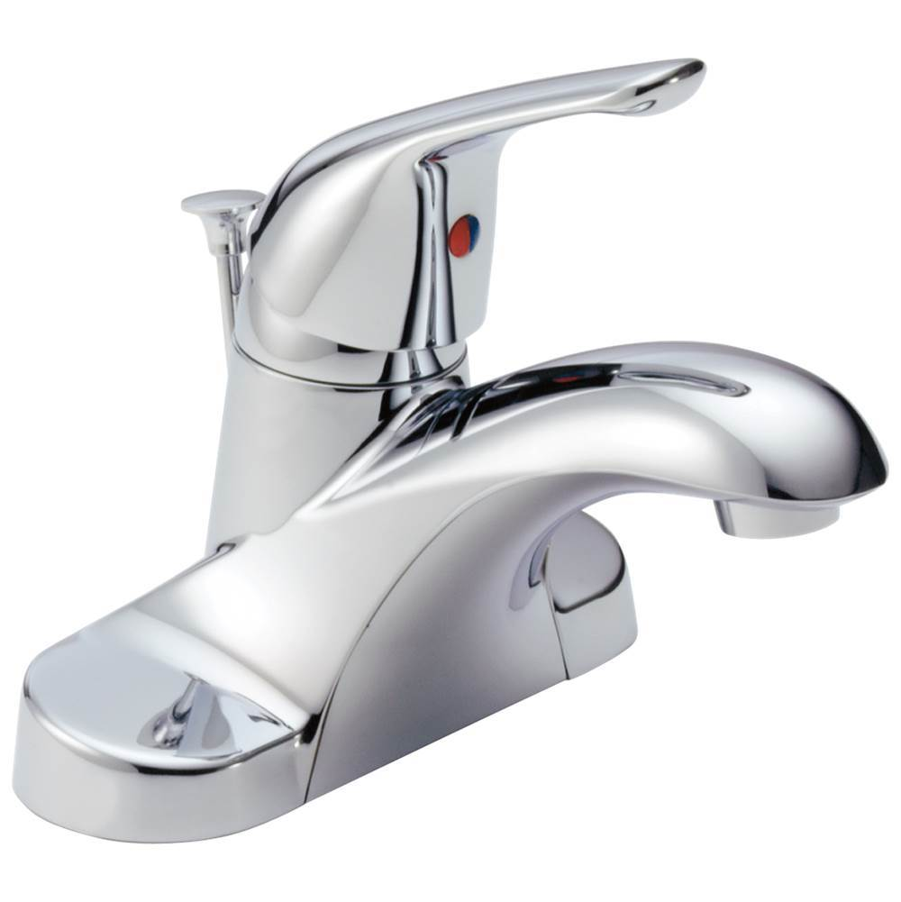 Delta Faucet Foundations: Single Handle Centerset Bathroom Faucet