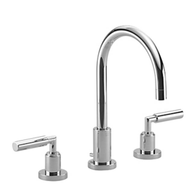 Dornbracht Three-hole lavatory mixer with drain