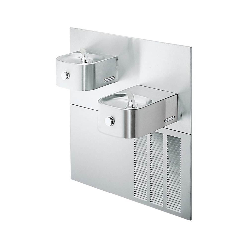 Elkay Elkay Soft Sides Fountain Bi-Level Reverse ADA Filtered, 8 GPH Stainless