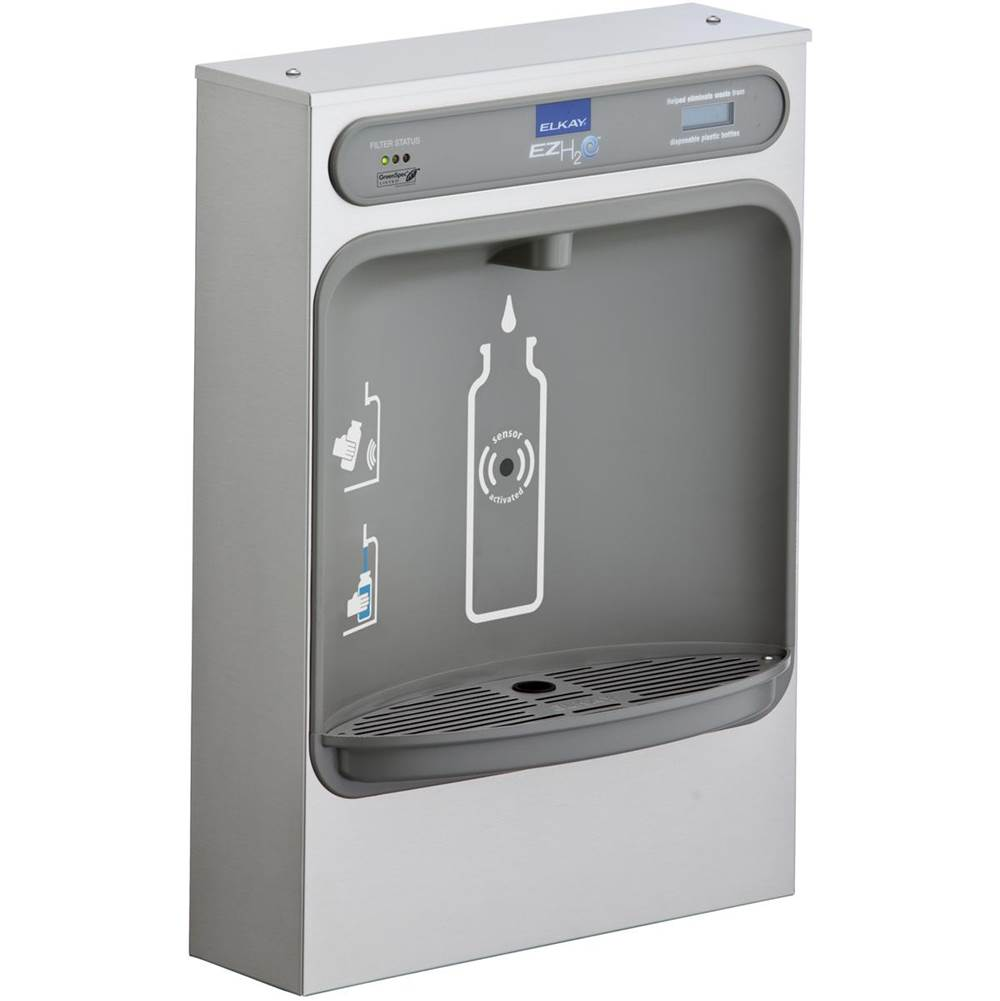 Elkay Elkay EZH2O Bottle Filling Station Surface Mount, Filtered Non-Refrigerated Stainless