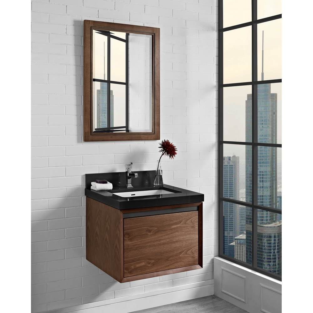 Fairmont Designs M4 24'' Wall Mount Vanity In Natural Walnut