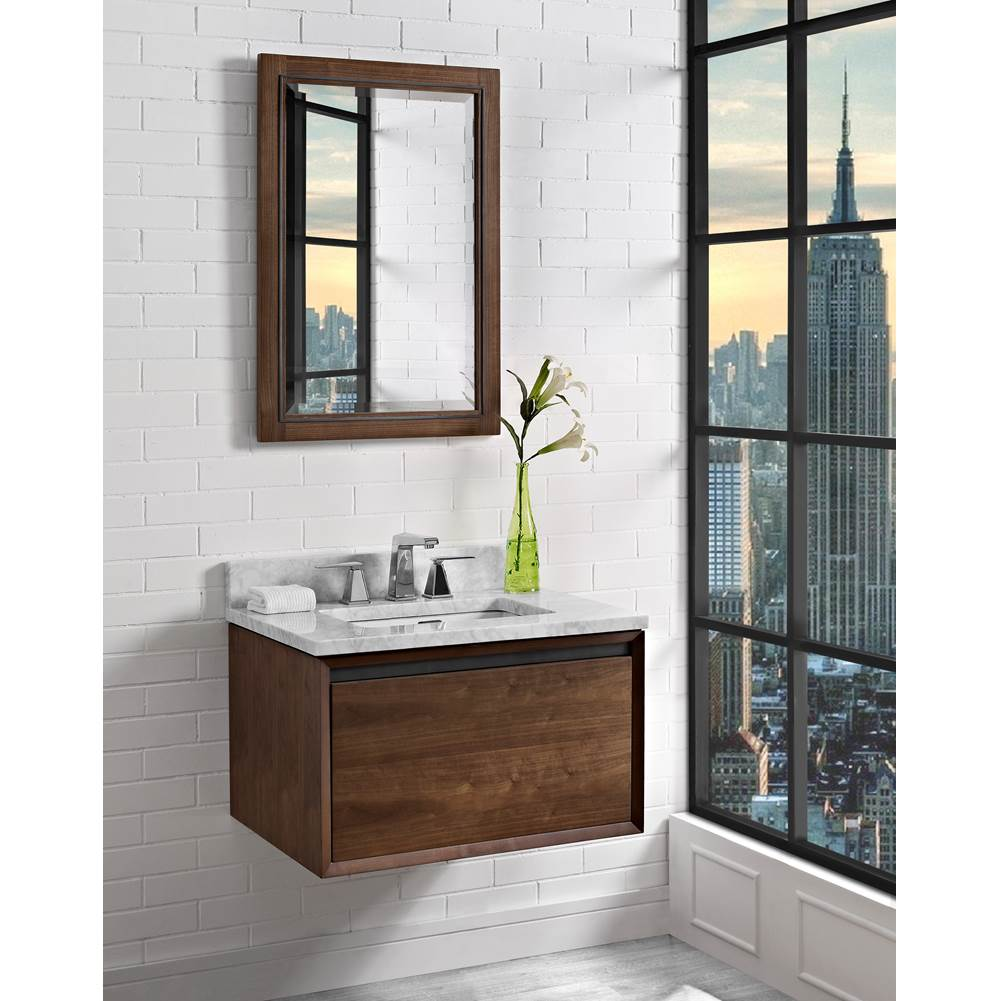 Fairmont Designs M4 30'' Wall Mount Vanity In Natural Walnut