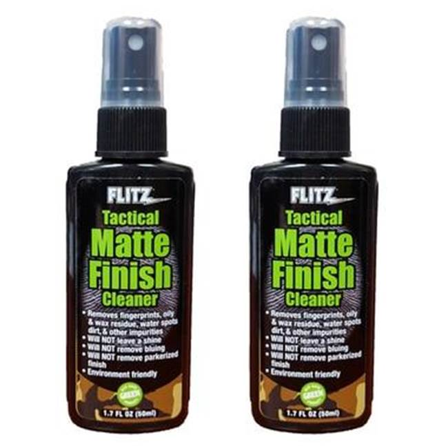 Flitz Tactical Matte Finish Cleaner