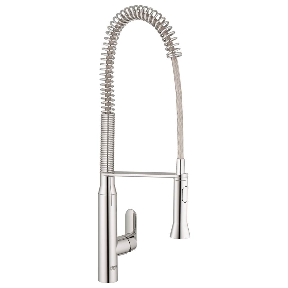 Grohe Single-Handle Semi-Pro Dual Spray Kitchen Faucet 1.75 GPM