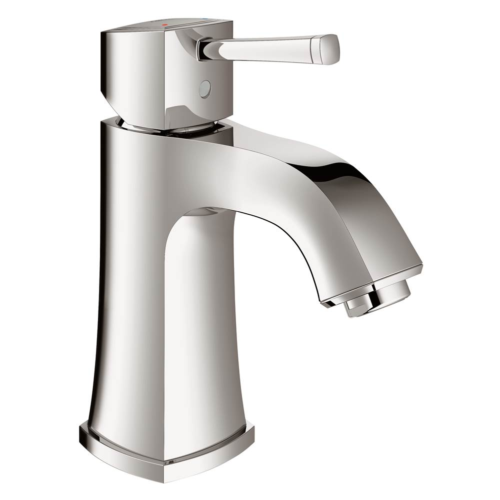 Grohe Single Hole Single-Handle M-Size Bathroom Faucet 1.2 GPM Less Drain