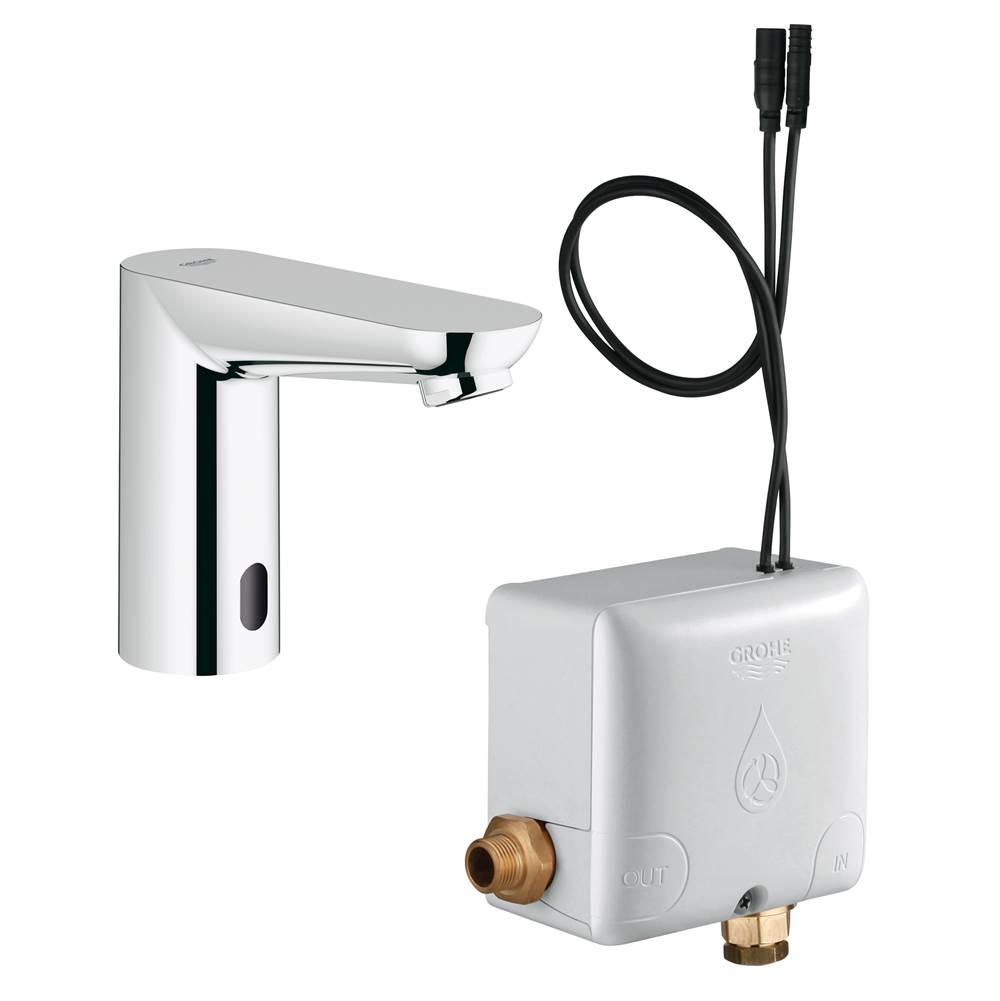 Grohe Cosmopolitan Electronic Touchless Centerset With Power Box