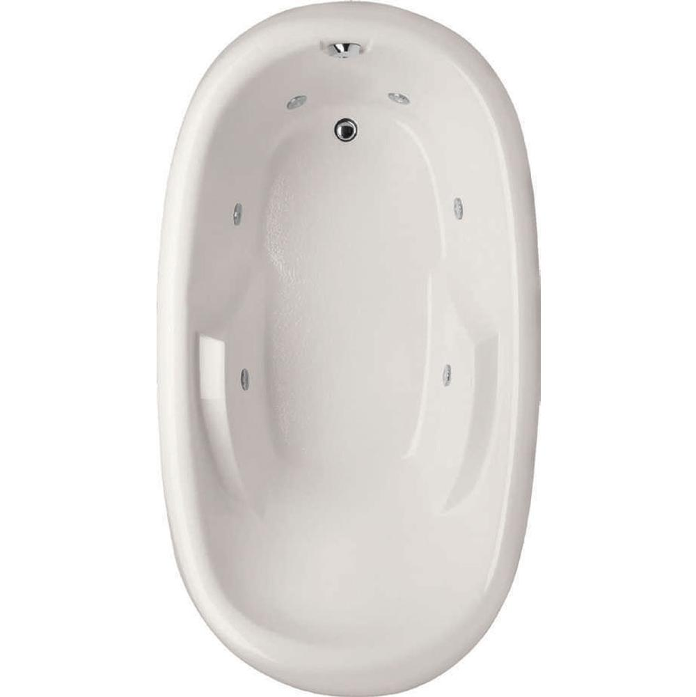 Hydro Systems KIMBERLY 7240 AC TUB ONLY-BISCUIT