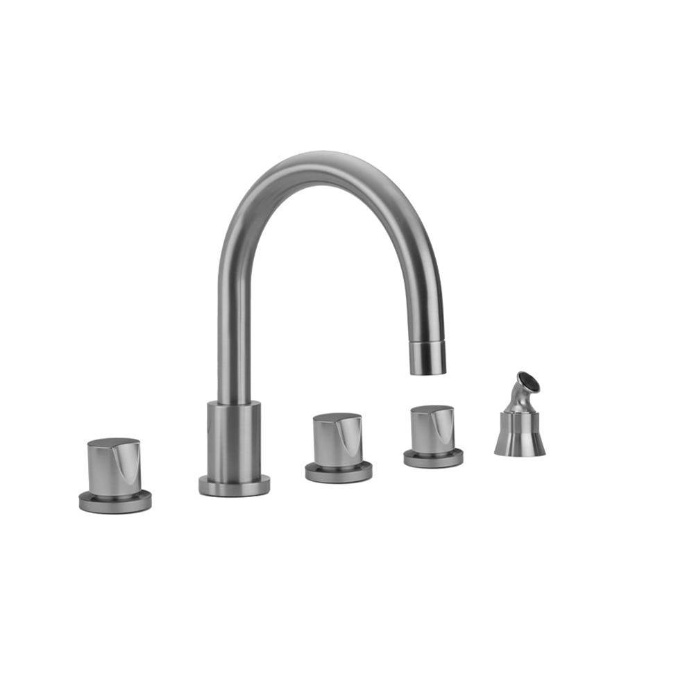 Jaclo T174-TRIM-ORB Round Roaring 20s Thermostatic Valve Trim with Lever Handle Oil Rubbed Bronze