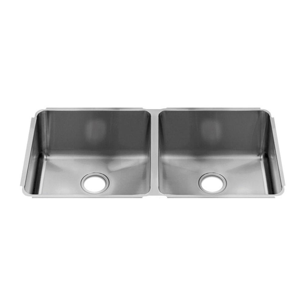 Home Refinements by Julien Classic Sink Undermount, Double L18X18X10 R18X18X10