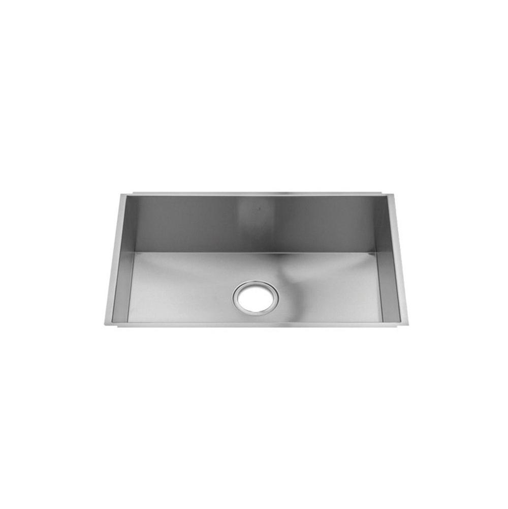 Home Refinements by Julien Urbanedge Sink Undermount, Single 27X16X8