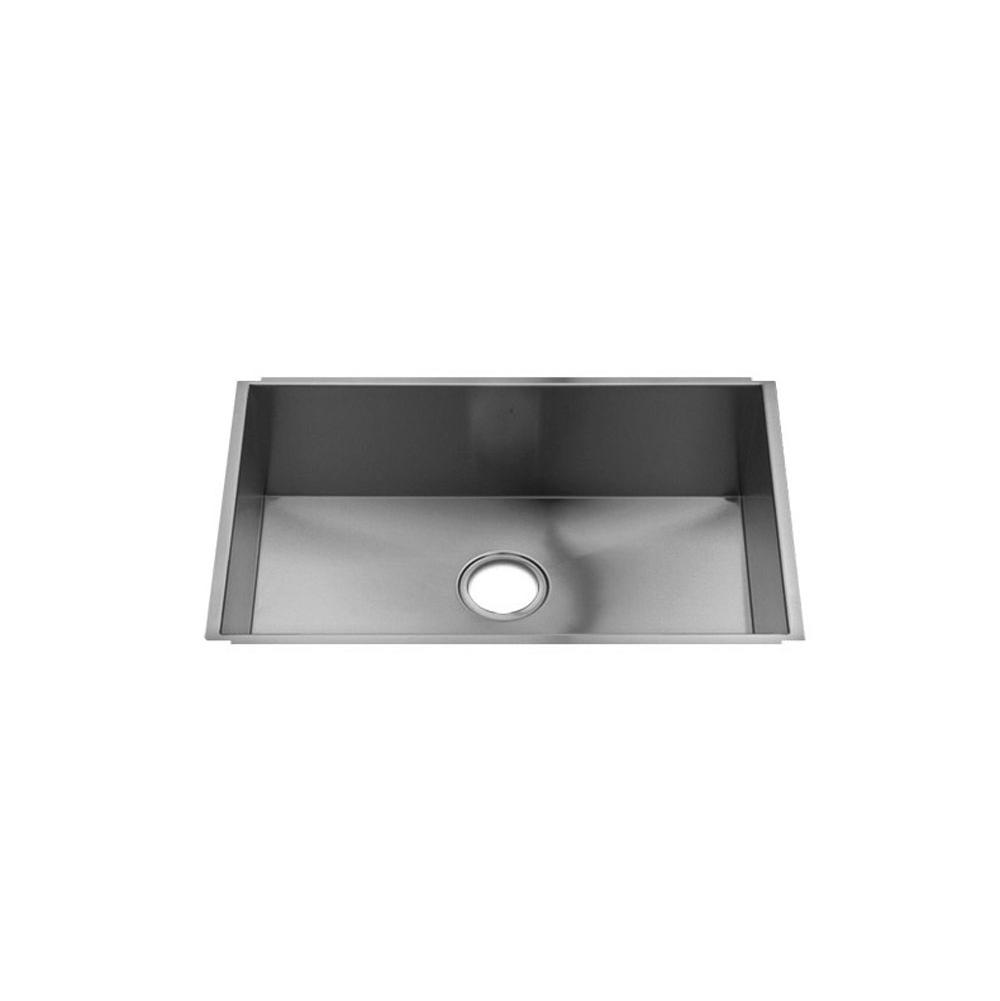 Home Refinements by Julien Urbanedge Sink Undermount, Single 27X16X10