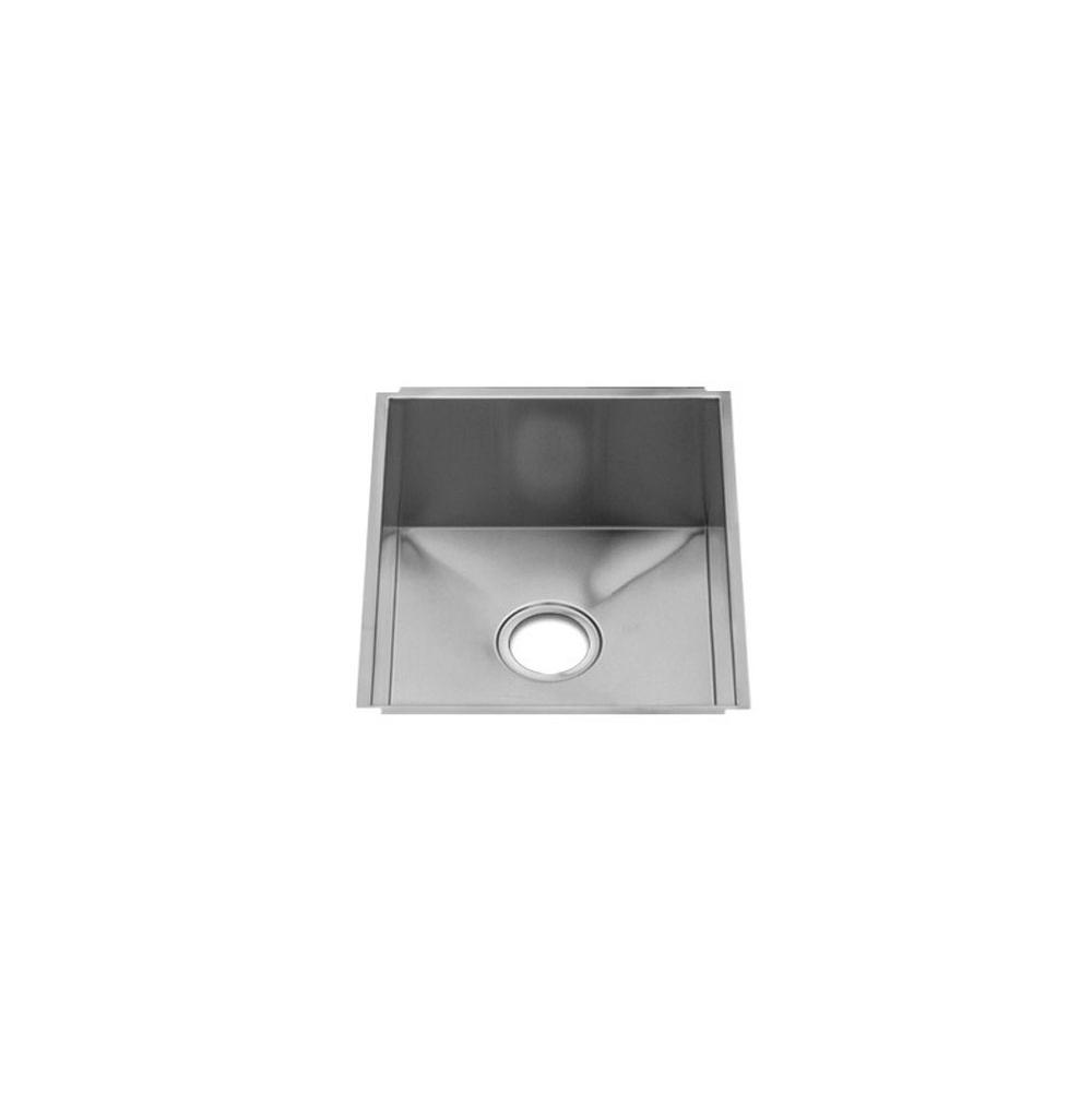 Home Refinements by Julien Urbanedge Sink Undermount, Single 15X18X10