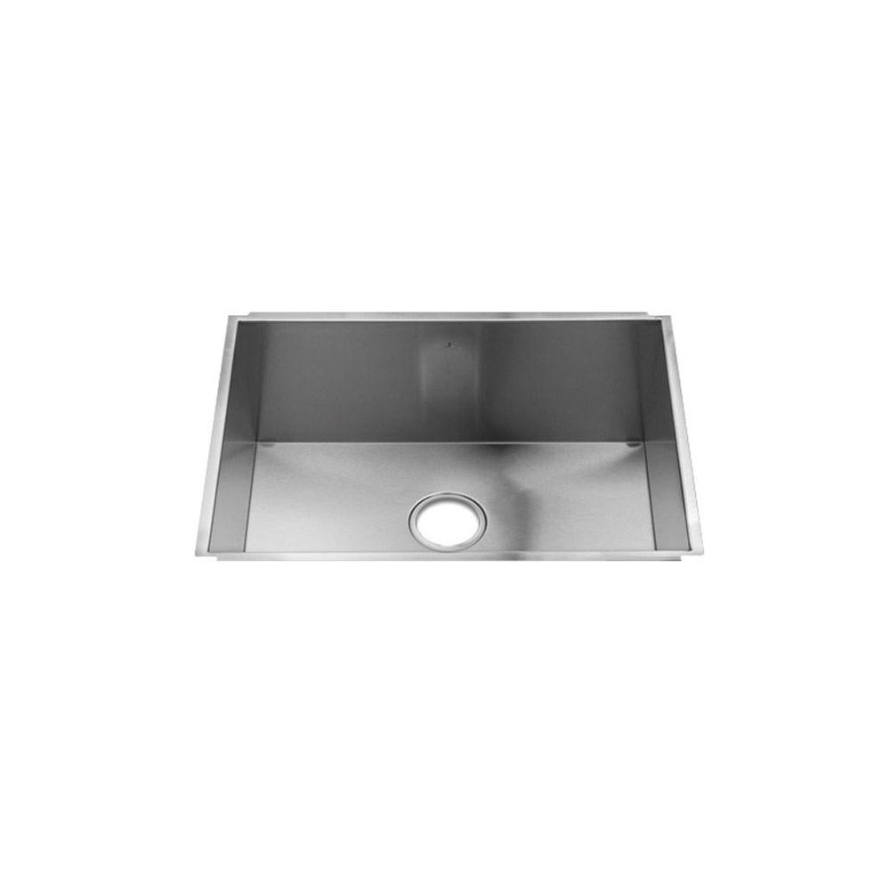 Home Refinements by Julien Urbanedge Sink Undermount, Single 24X17X10