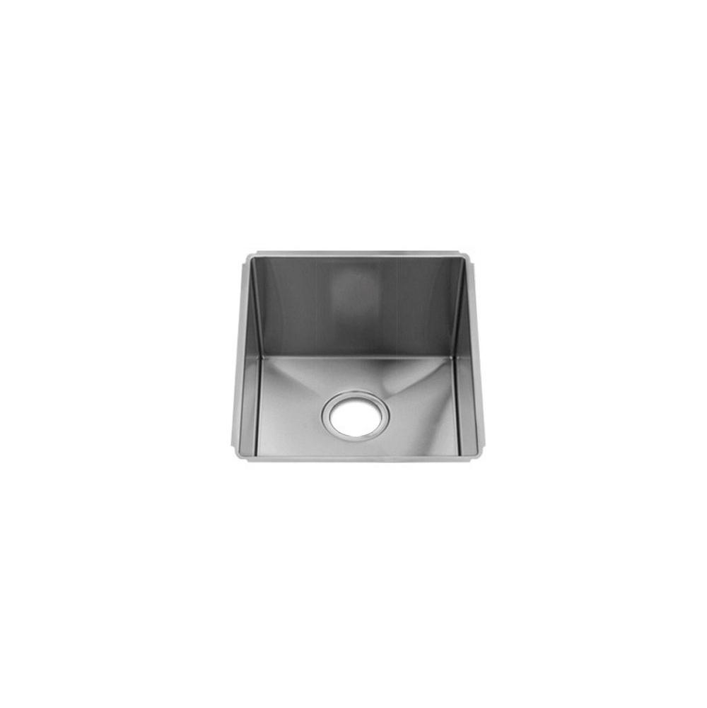 Home Refinements by Julien J7® Sink Undermount, Single 15X18X10