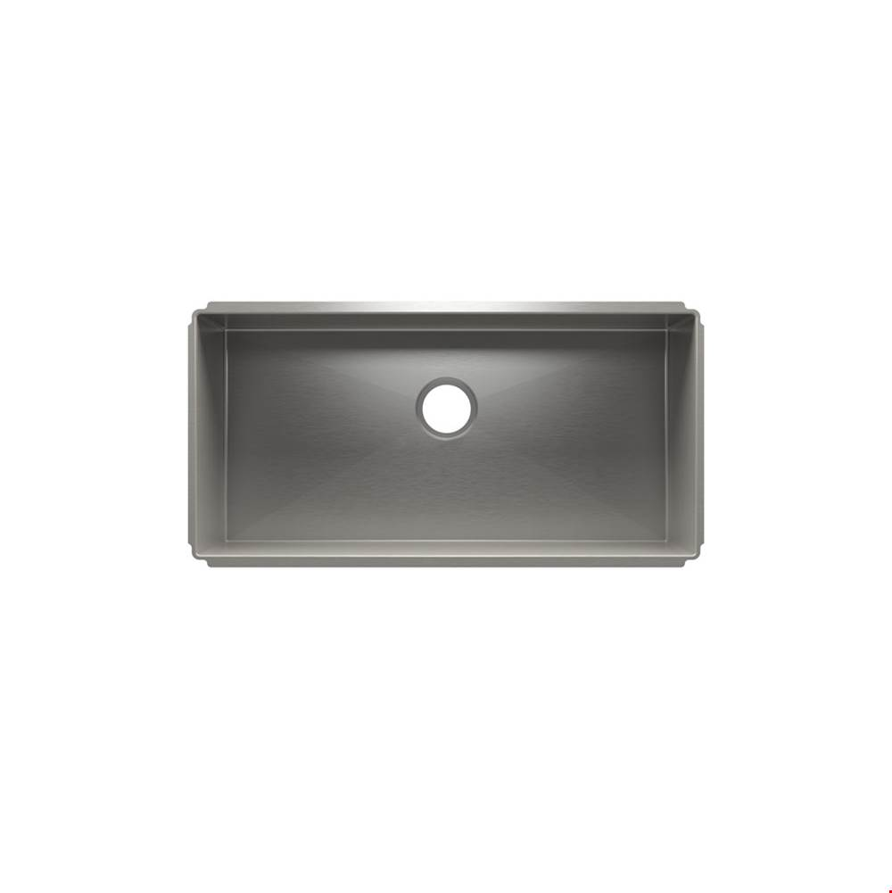 Home Refinements by Julien J7® Sink Undermount, Single 33X16X8