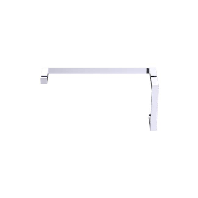 Kartners Munich - 8''x24'' Offset Shower Door Handles - Polished Chrome