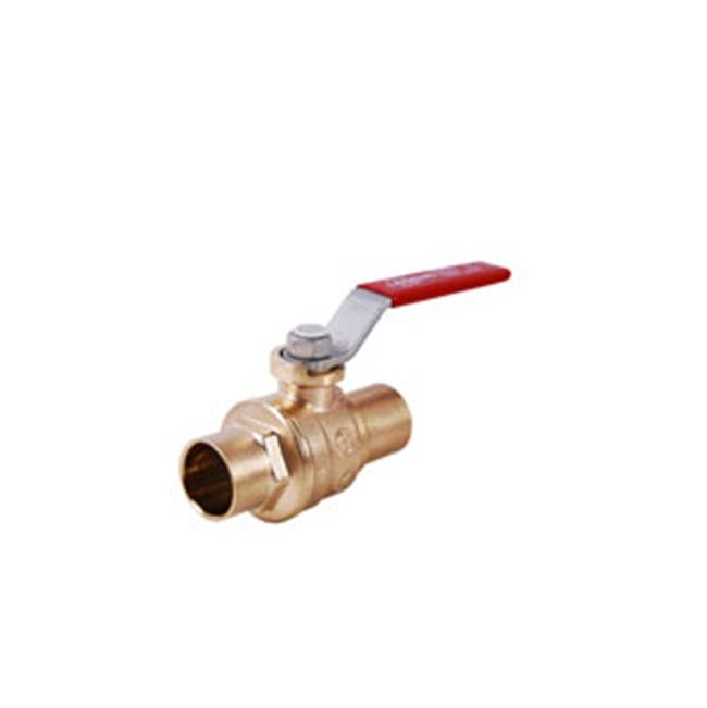 Legend Valve 2'' S-1001 No Lead Forged Brass Full Port Ball Valve