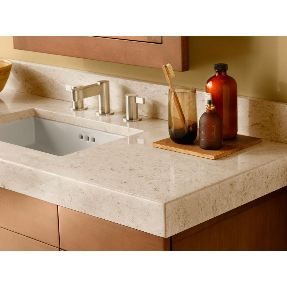 "Bathroom Sinks. Ronbow WideAppealâ""¢ 48'' x 19'' Marble Vanity ..."