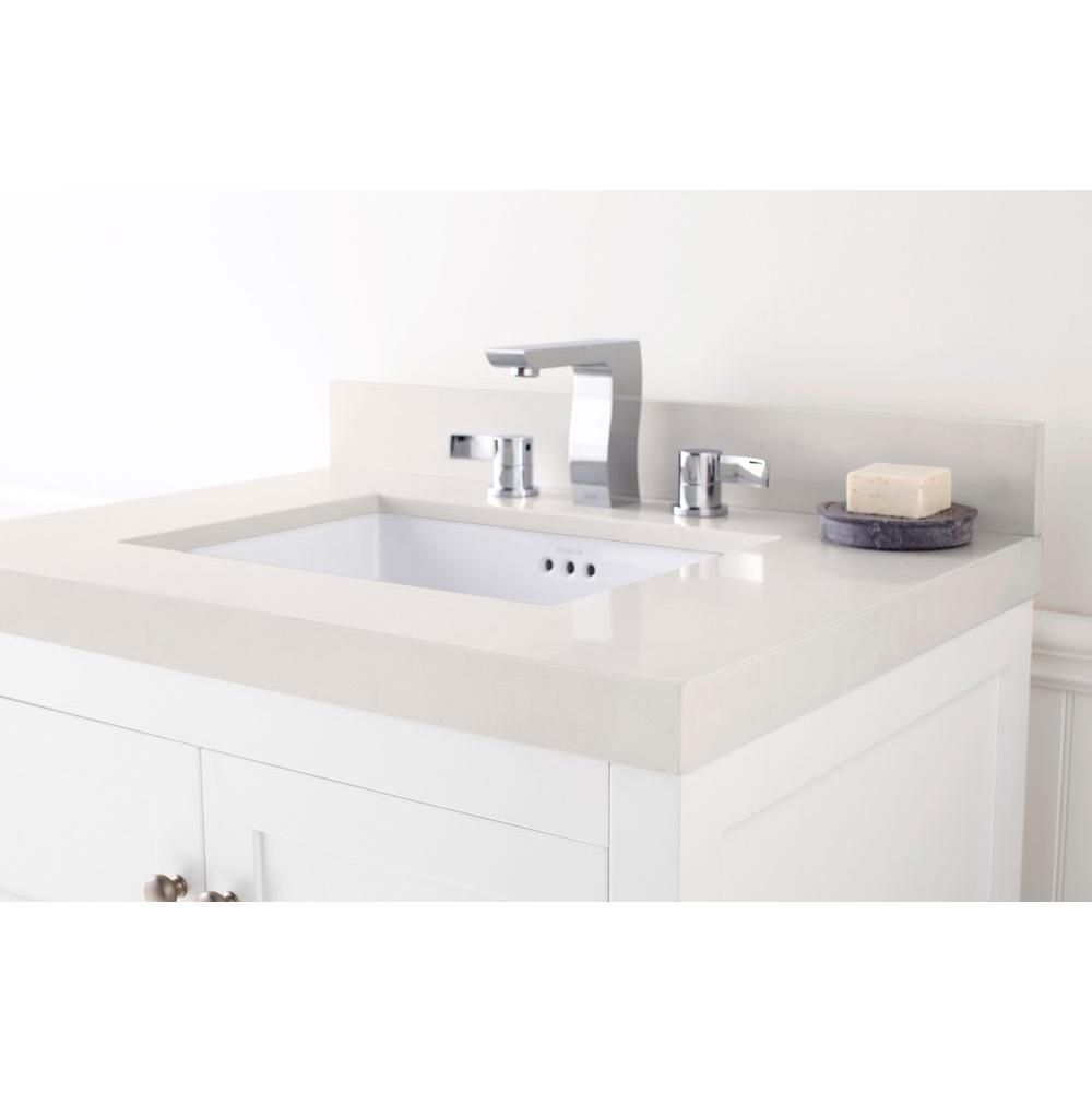 Ronbow Bathroom Sinks ronbow techstone™ wideappeal™ 31'' x 22'' vanity top in solid