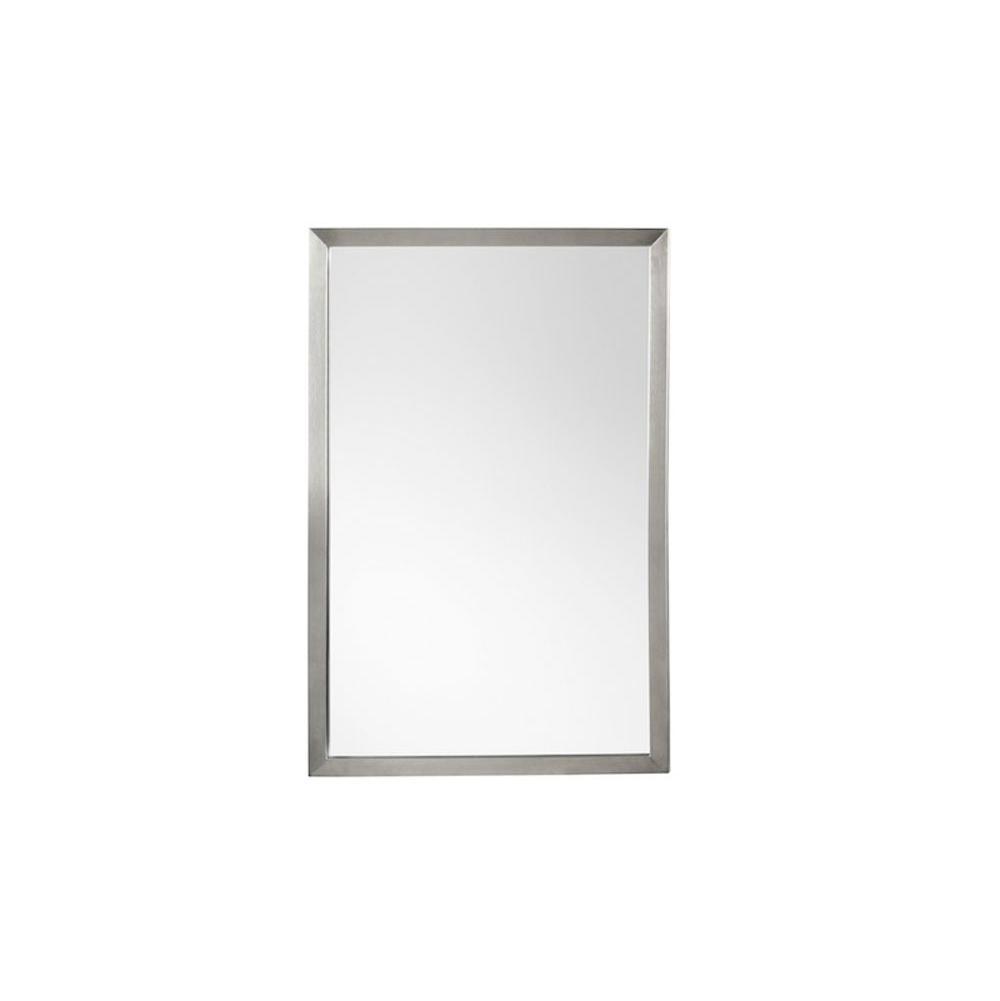 Ronbow Contemporary 23 x 34 Metal Framed Bathroom