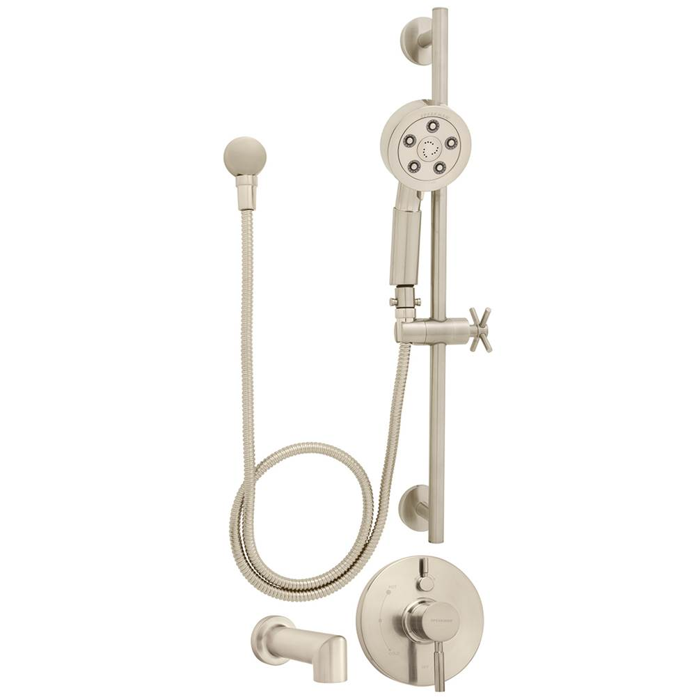 Speakman Neo SM-1450-P-BN Hand Shower and Tub Combination with Diverter Valve