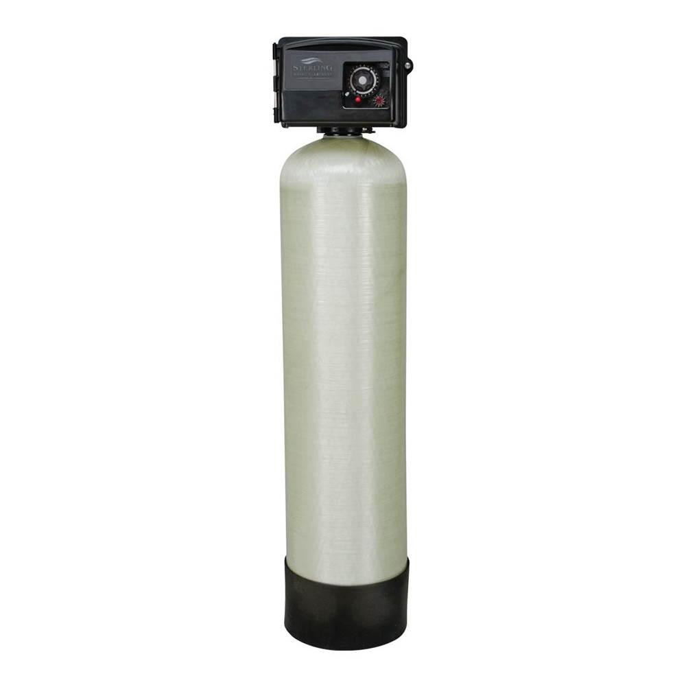 Sterling Water Treatment 1.5 cu ft, Catalytic Filter, 1 Tank, 1'' SS Bypass