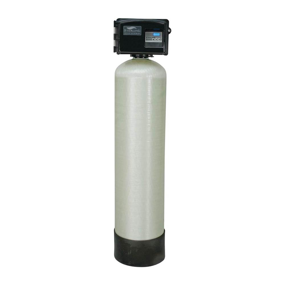 Sterling Water Treatment 2.0 cu ft, Digital Iron Filter, 1 Tank, 1'' SS Bypass, M-bed
