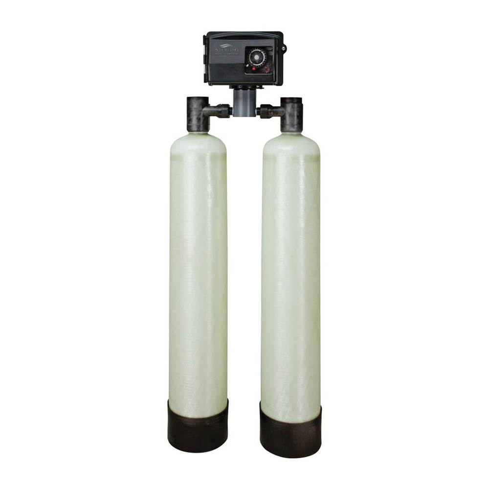 Sterling Water Treatment 2.0 cu ft, Iron Filter, 1'' SS Bypass, (4) IP05M