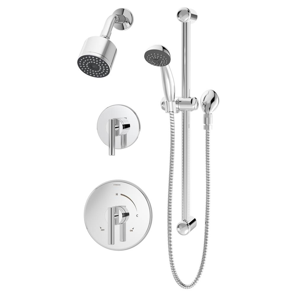 Symmons Showers Tub And Shower Faucets Chromes | Advance Plumbing ...
