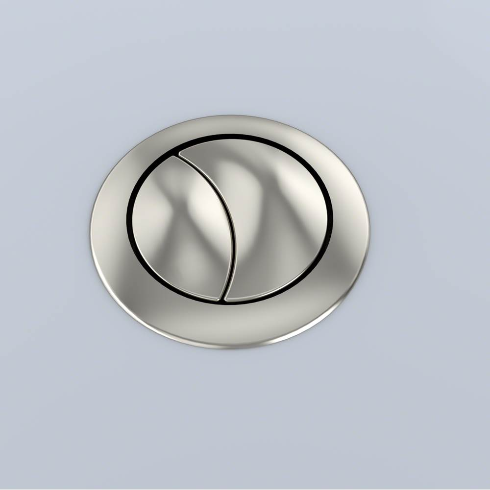 Toto Aquia Push Button Ms654 - 53Mm Spare Part - Brushed Nickel