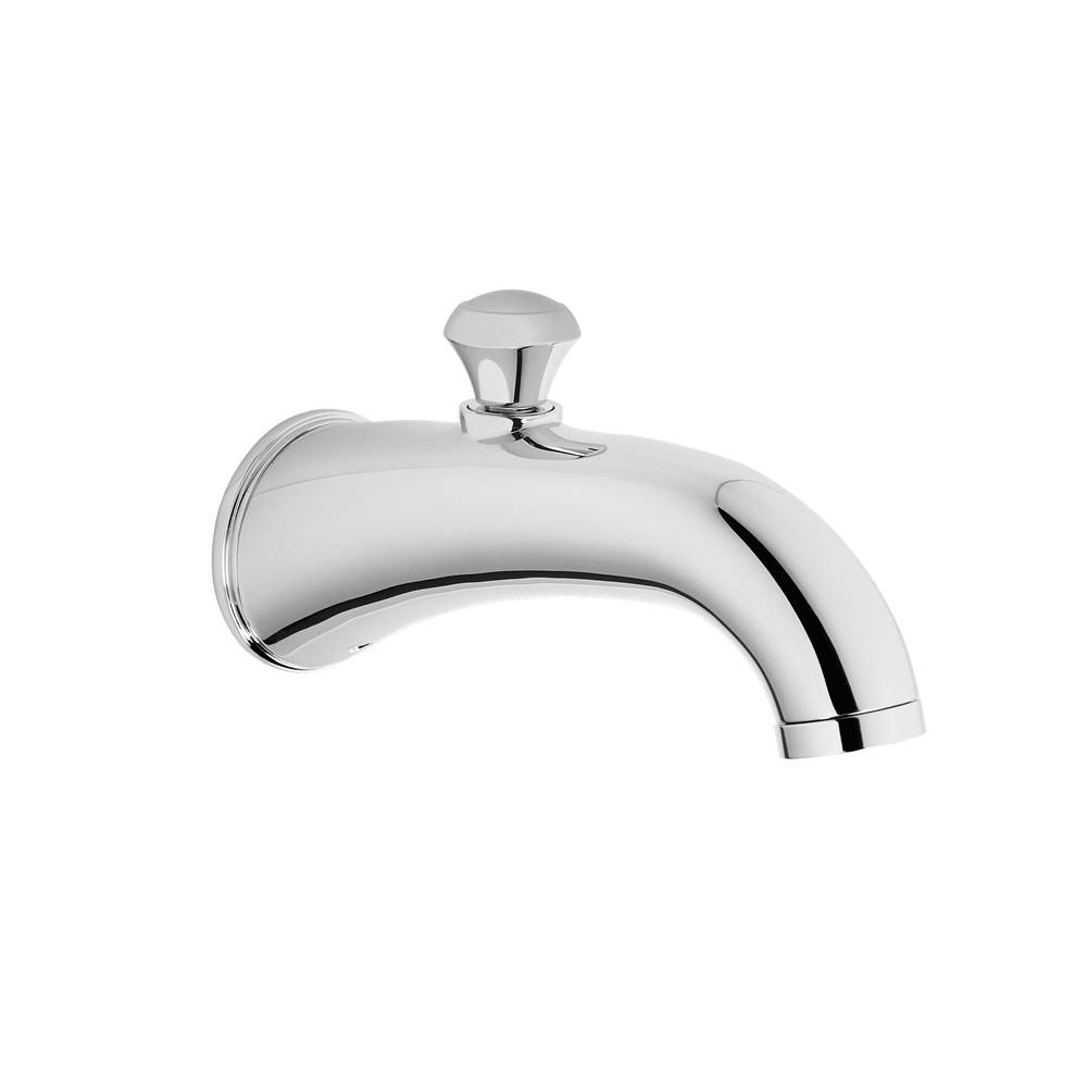 Toto Silas™ Wall Tub Spout with Diverter, Polished Chrome