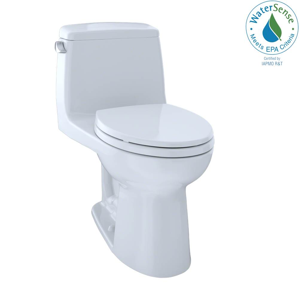 Toto Eco Ultramax Elong Cefiontect Ada Comp 1-Pc Toilet-Cotton