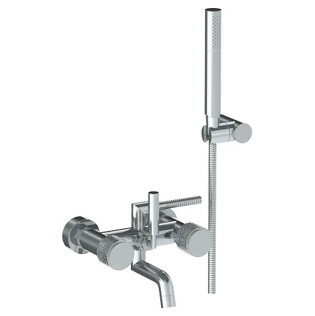 Watermark Wall Mounted Exposed Bath Set with Hand Shower