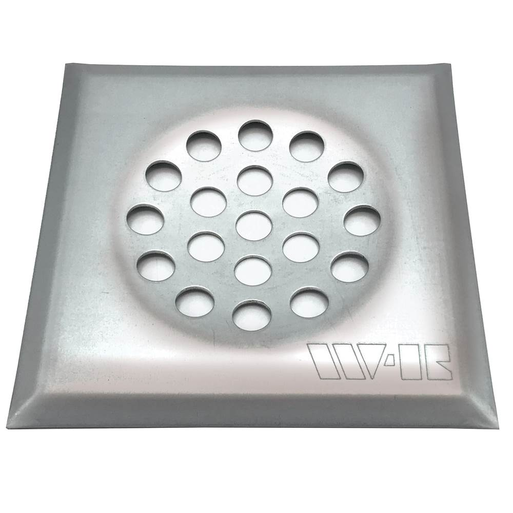 Wal-Rich Corporation 10'' X 10'' Galvanized Steel Cesspool Plate