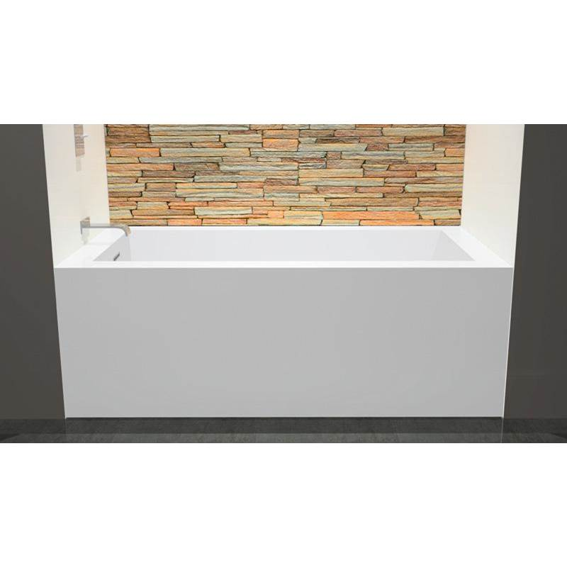 Wet Style Free Standing Soaking Tubs item BC1106-L-BN-COP-MA