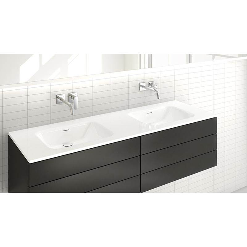 Wet Style Vessel Bathroom Sinks item VELXS60-O-8-BN-GA