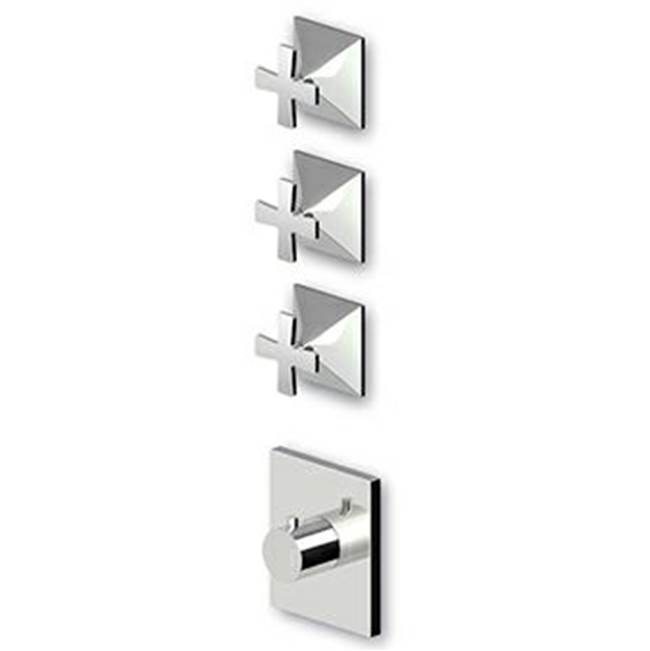 Zucchetti Faucets Thermostatic Valve Trim Shower Faucet Trims item ZB1098.1900C3